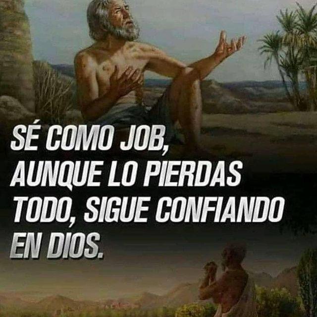 Frases de Dios Sé como Job