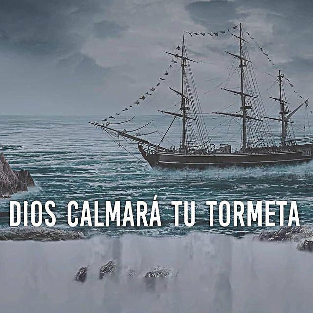 Frases de Dios calmará tu Tormenta