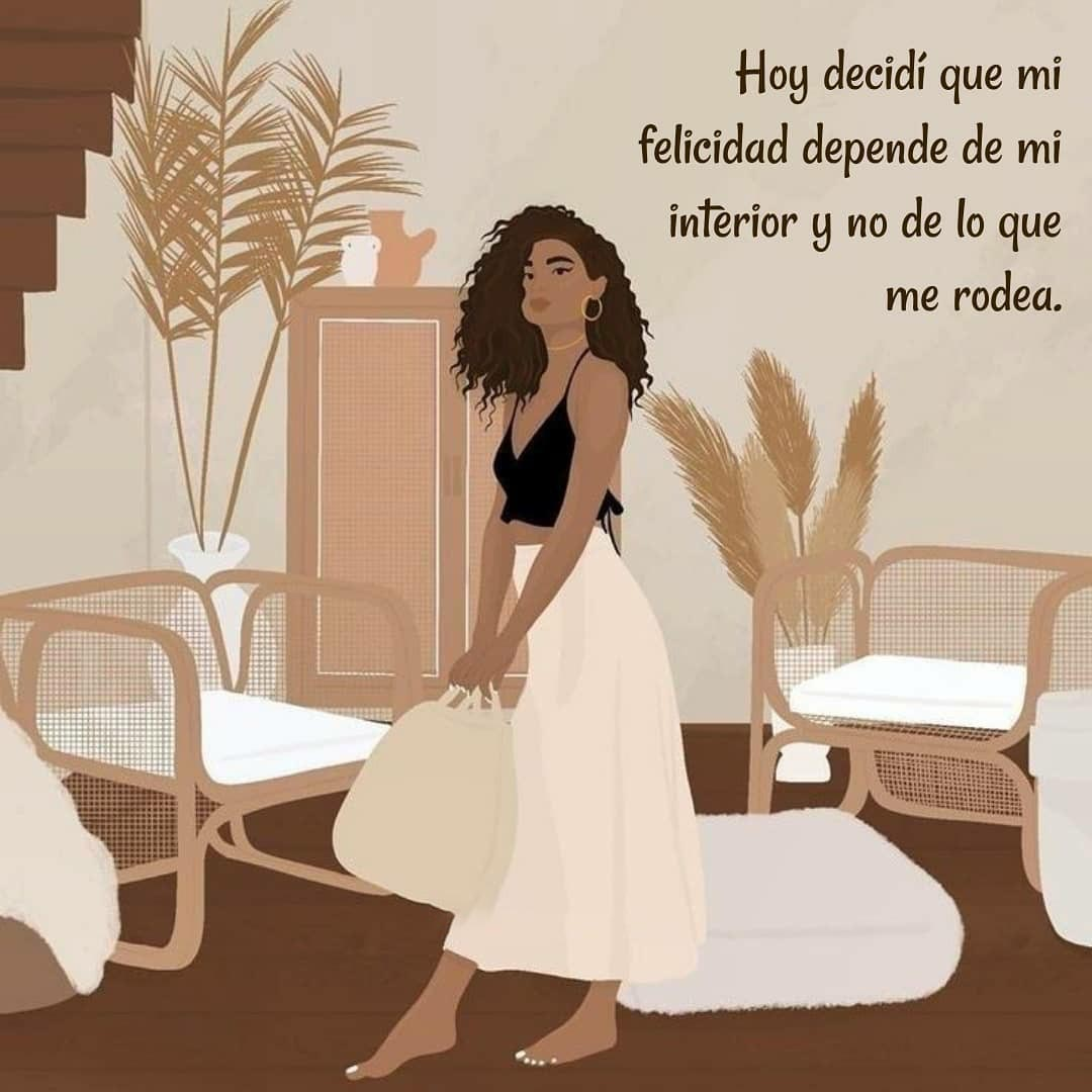 Frases de Felicidad Tumblr Hoy decidí que mi felicidad depende de mi interior