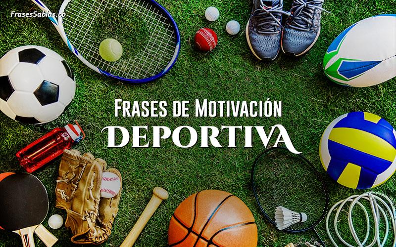 Frases de Motivación Deportiva