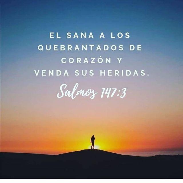 Frases de Semana Santa El sana a los quebrantados de corazón