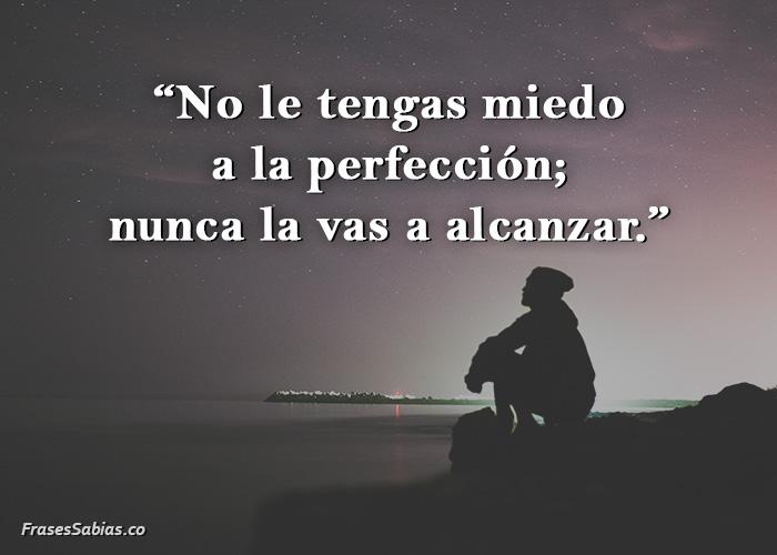 frases acerca de la perfección