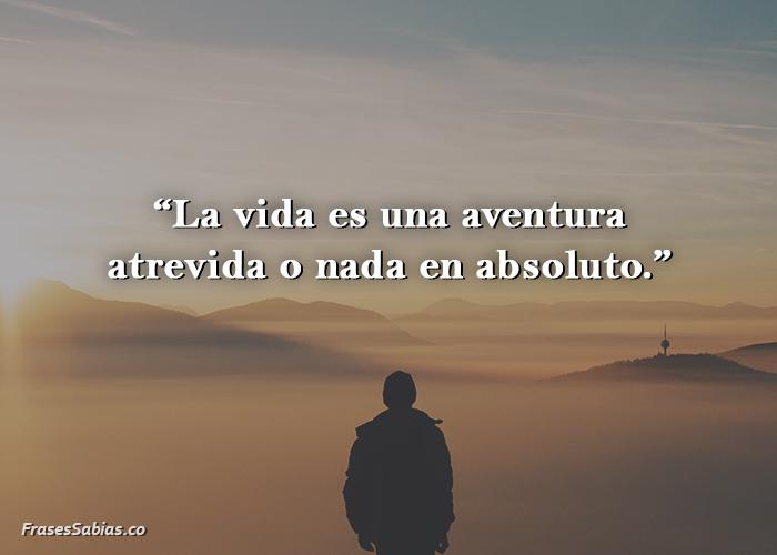 frases de la vida es una aventura