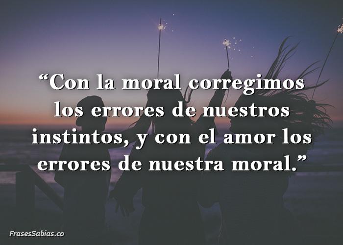 frases sobre la moral