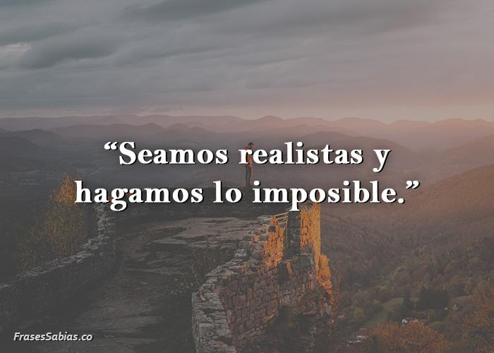 frases sobre lo imposible en la vida