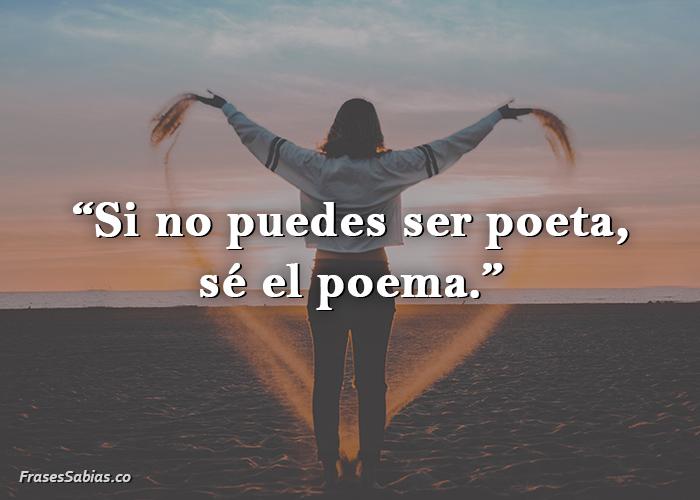 frases sobre ser el poema antes del poeta