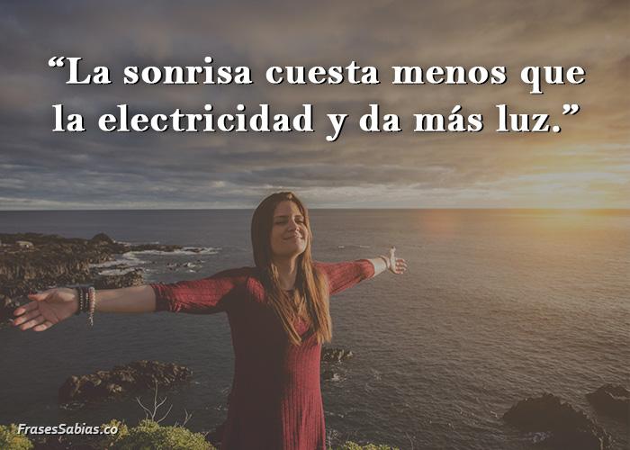 frases sonrisa y lo fácil que es ser feliz