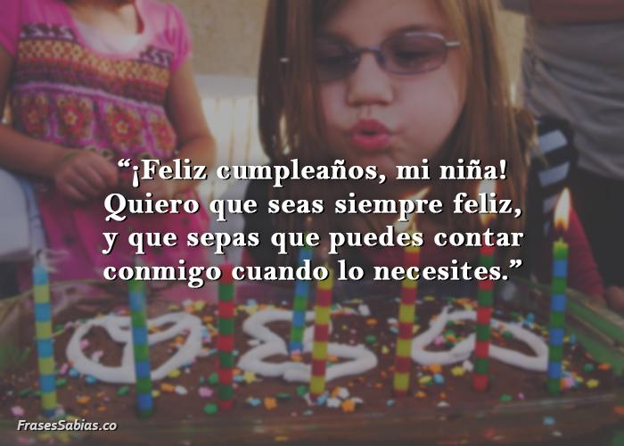 mensajes de cumpleaños para un niño